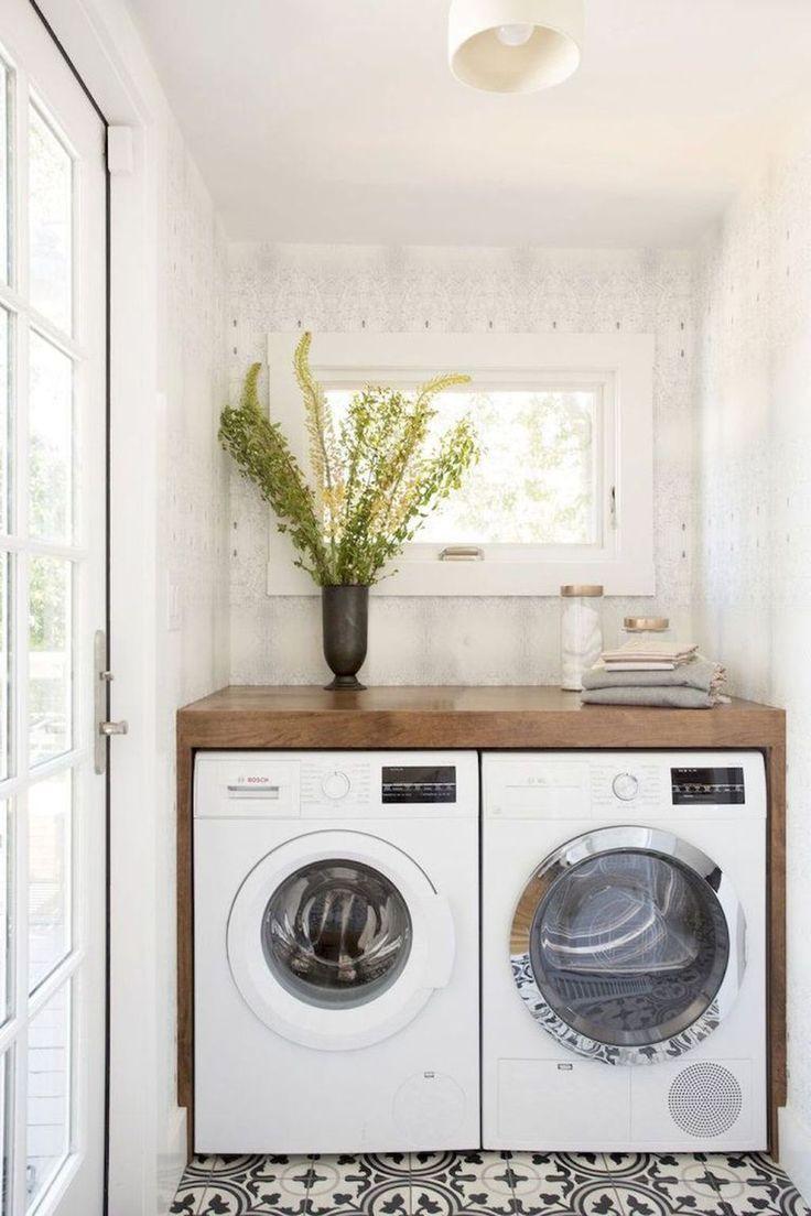 32 Stunning Small Laundry Room Design Ideas