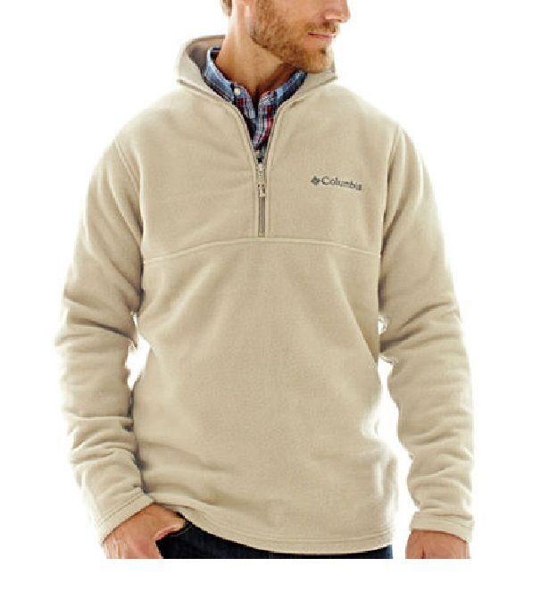 Details About Columbia Men S Fleece Jacket Lone Ridge Half