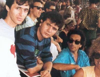 Goldman, Balavoine, Berger