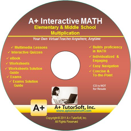 Free Math Software Download: Elementary and Middle School Multiplication