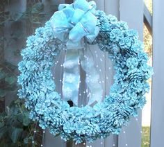 pinecone wreath ideas