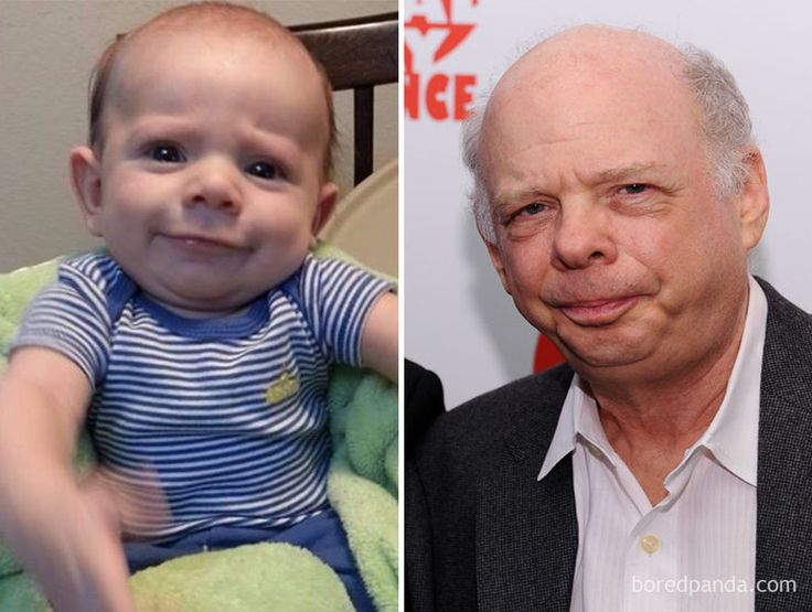 Friend's Baby Looks Like Wallace Shawn - IN-CON-THIEVABLE!!