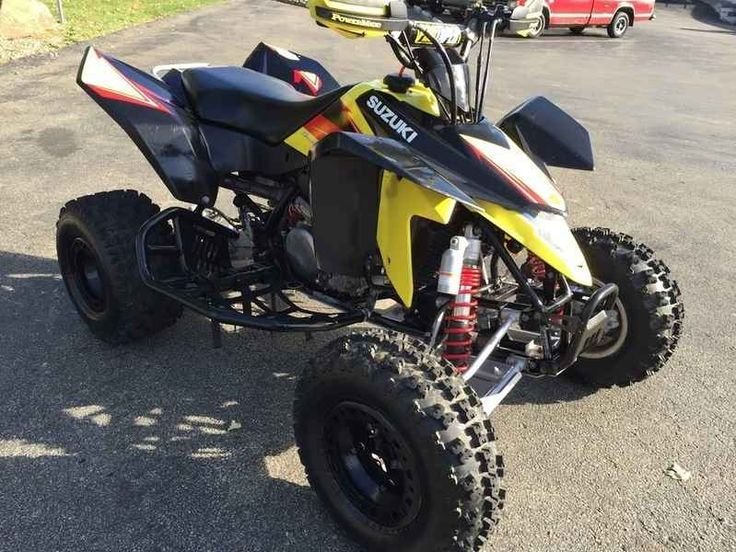 Used 2013 Suzuki Quadsport Z400 ATVs For Sale in Pennsylvania. 2013 Suzuki Quadsport Z400, Excellent Condition! Includes Nerf Bars and Aluminum Skid Plates! 2013 Suzuki® QuadSport Z400 The 2013 QuadSport Z400 features Suzuki's Fuel Injection system that provides a cleaner, quicker, and stronger acceleration than ever before. It's the ideal four-wheeler for exciting sport riding on the track, in the sand, or in the woods. Whether you're an avid racer or just out for a quick ride, our sport…