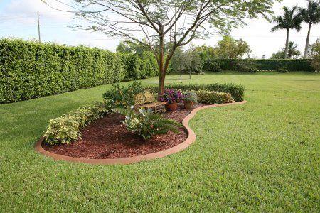 1000 ideas about garden edge border on pinterest stone for Tree edging border ideas