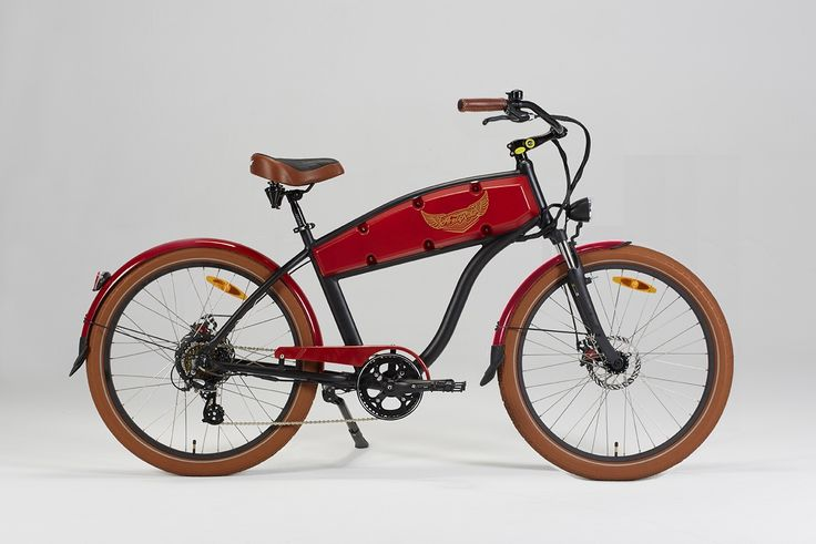 Electric bike ariel rider ebikes nclass red from the
