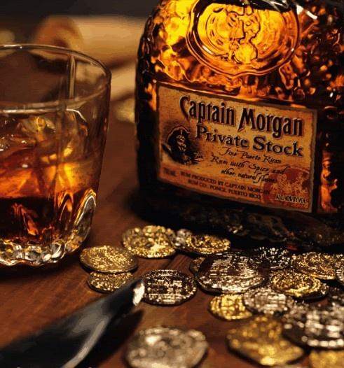 Captain Morgan Private stock has come to Europe!!!   endelig er den kommet!