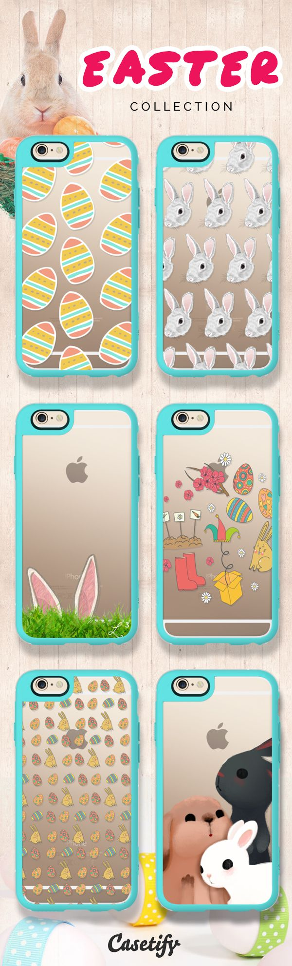 Hip Hop Hooray Easters On Its Way! Shop these adorable Easter designs on our site now! https://www.casetify.com/search?keyword=easter | @casetify