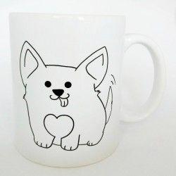 Kubek I Love Dog