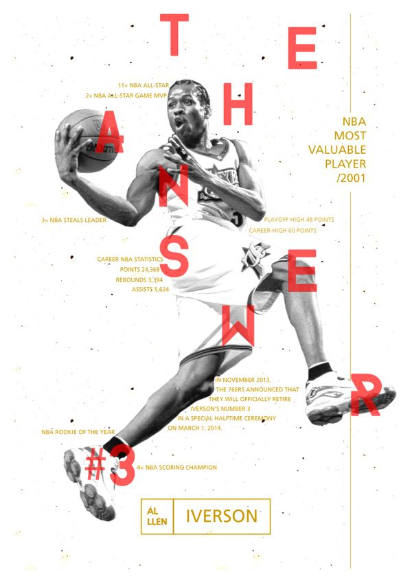 Allen Iverson - The Answer #3 - NBA Player
