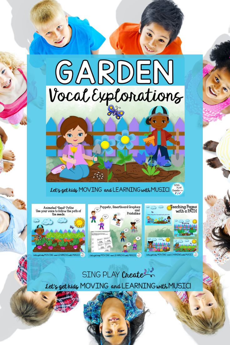 Vocal Explorations: Garden Theme