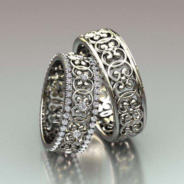 Виды парных обручальных колец. Самые лучшие обручальные кольца мира. Все о…
