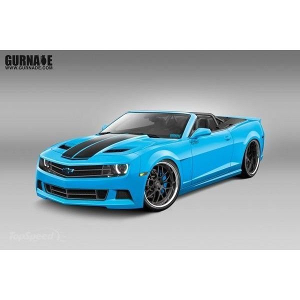 2012 Chevrolet Camaro SS Convertible by Westreicher and Tjin Edition ❤ liked on Polyvore