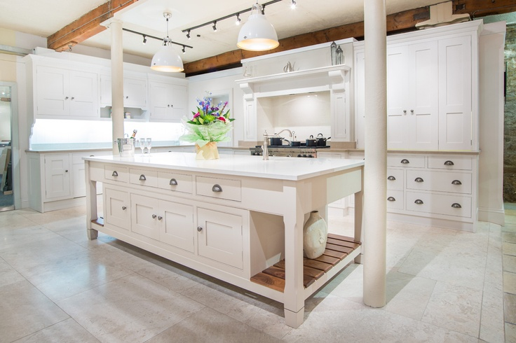 Inspired by Downton Abbey the Grantham kitchen offers the best of a  hand made modern bespoke kitchen with traditional style.