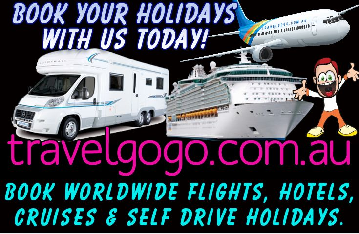 Book hotels, flights, cruises, self drive holidays worldwide.  Fantastic prices up to 80% off deals.