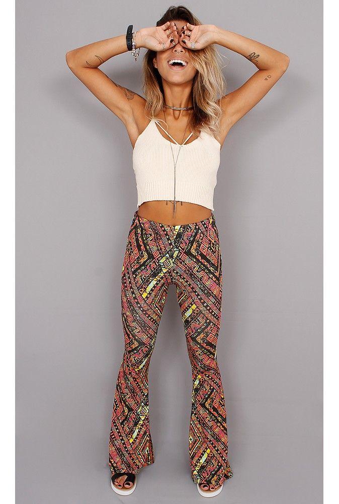 Calça Flare Coisa Nossa Fashion - fashioncloset