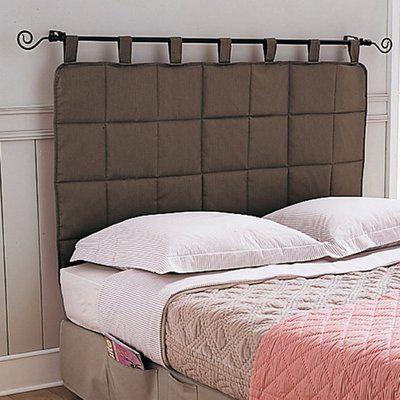Tête de lit matelassée