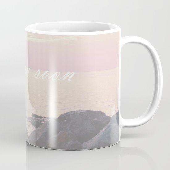 Sea You Soon Sunset - $12 #seayousoon #mugs #coffeemugs #society6mugs