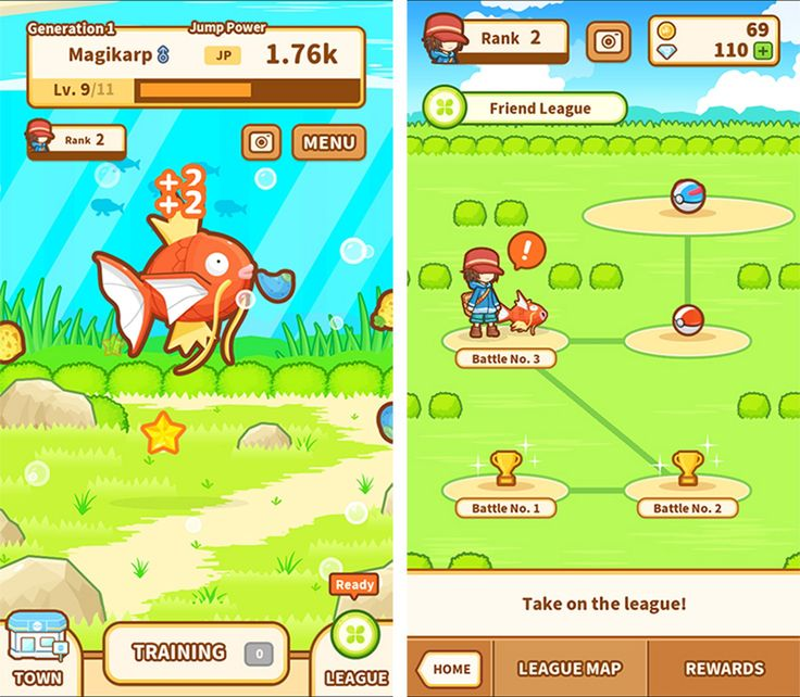 Magikarp Jump Launches as Latest Pokémon Game for iPhone and iPad  #Tag:Pokemon #news