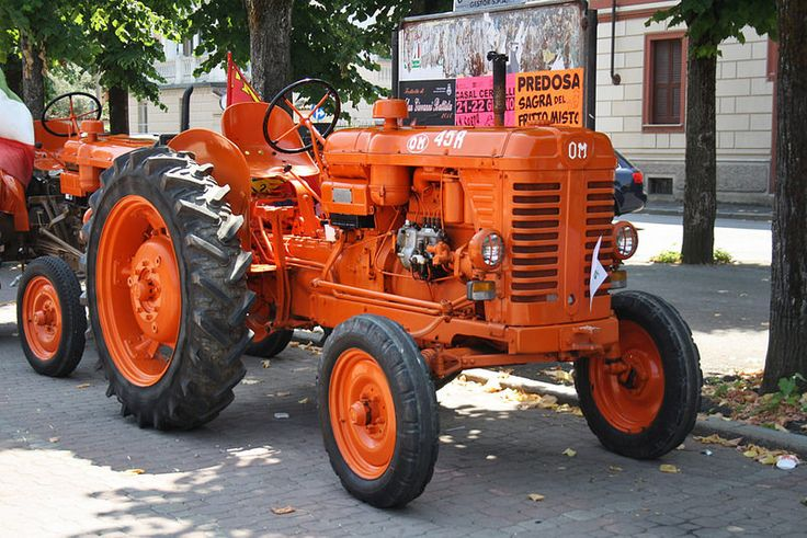 2° Raduno trattori d'epoca - Ovada - OM