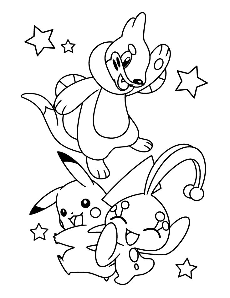 Free Pokemon Advanced Coloring Page Pages 59 Printable