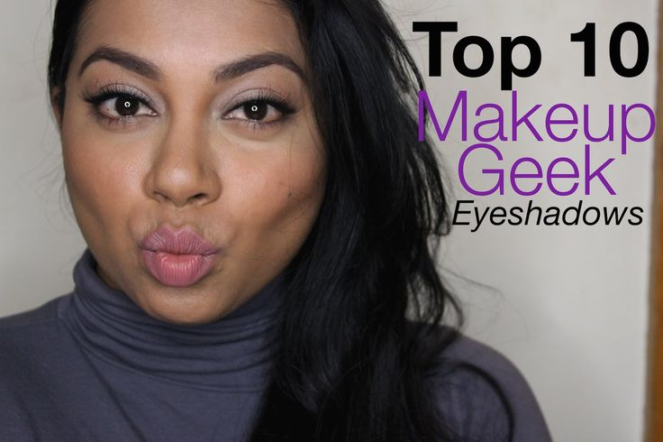 YazMakeUpArtist shares her TOP 10 Makeup Geek Eyeshadows picks. Click to find out what they are! What are your favorites?