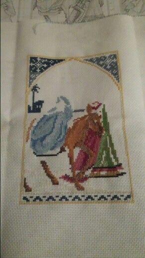 Christmas cross stitch year 1; 9/?