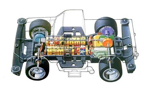 Truckin' Chassis | Mini 4WD Wiki | Fandom powered by Wikia