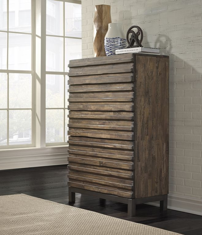 Rustic Design Gets A Contemporary Upgrade With The Delfina Chest By