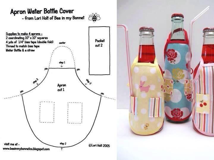 Botellas delantal