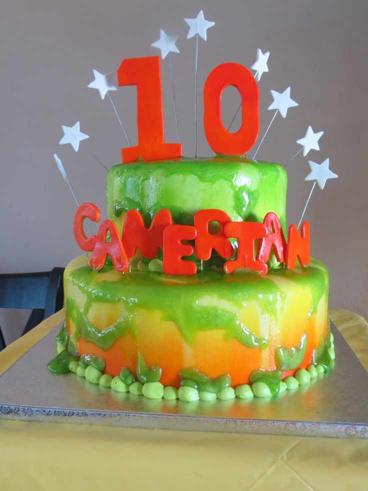 Nickelodeon Slime Themed Party Birthday Parties Past For