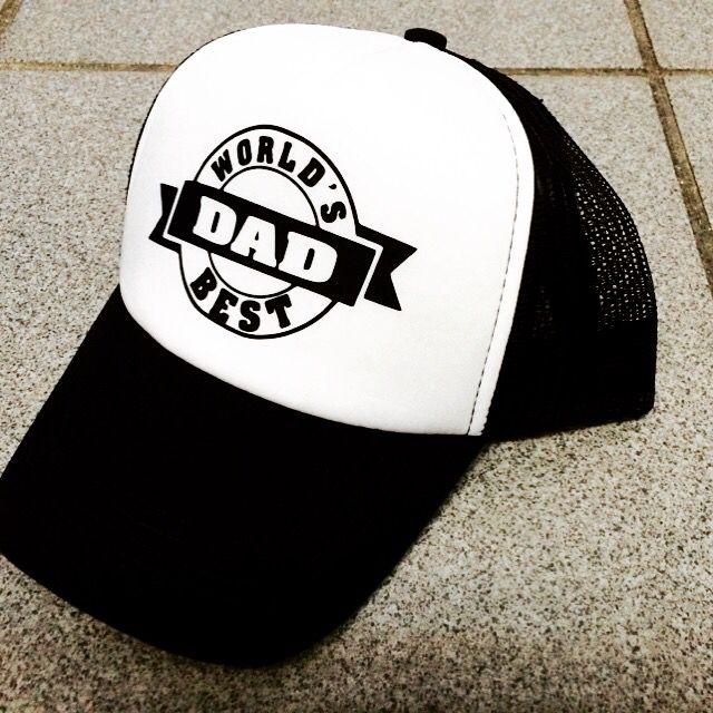 Gorra con vinil textil .. Best Dad