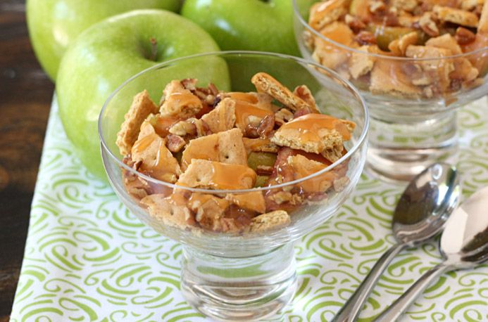 Crunchy Caramel Apples