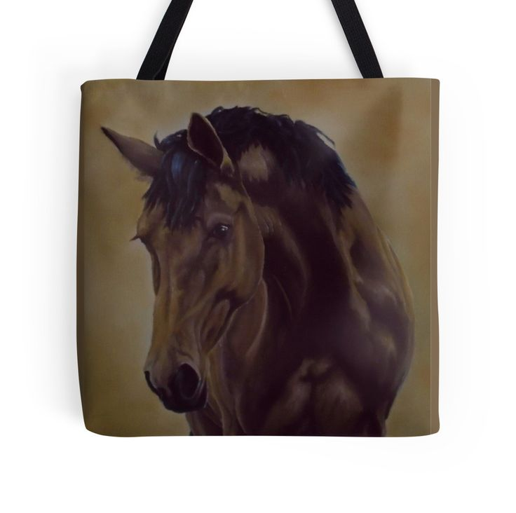 Tote Bag,   brown,cool,beautiful,fancy,unique,trendy,artistic,awesome,fahionable,unusual,accessories,for sale,design,items,products,gifts,presents,ideas,horse,equine,animal,wildlife,redbubble