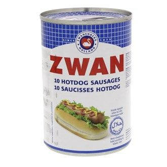Buy online #Zwan Hotdog #Sausages #Canned Meat 400 Gm @ luluwebstore.com for AED9.90
