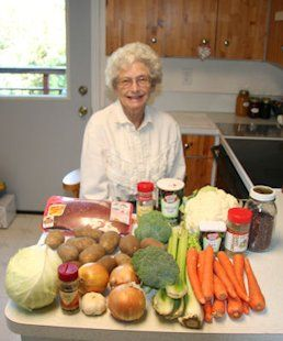 Canning Thick Beef Vegetable Soup Recipe