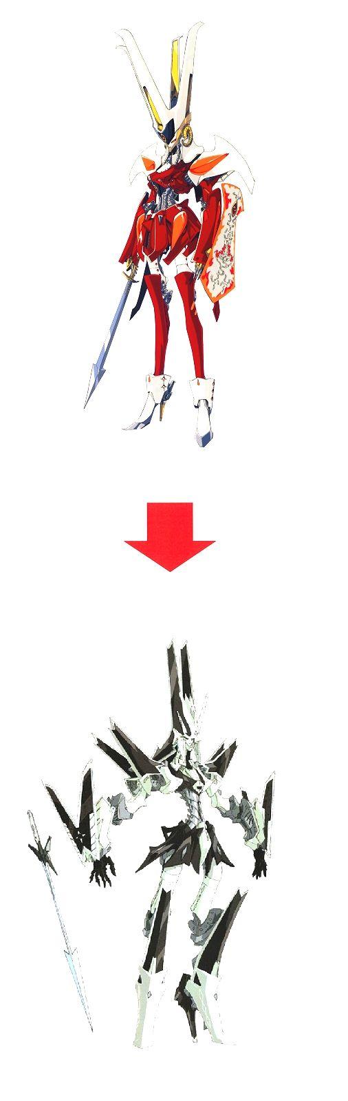F.S.S Mamoru Nagano mechanic design. MotorHead to GoThicMade Setting change of Story! the EMPRESS of DISTURB → Die KAISERIN