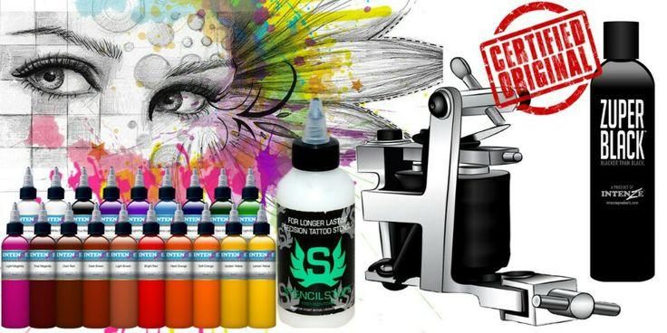 Professional tattoo supplies.  Articole de tatuat de calitate Merita vazut web: www.tattooinkstore.com