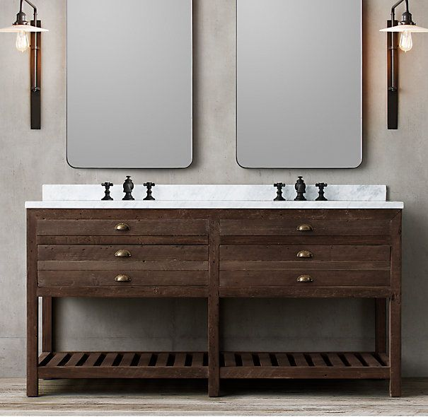 66 vanity double sink. JF  Also like this one but it s 66 wide instead of 72 59 best Upstairs master bath Vanity images on Pinterest