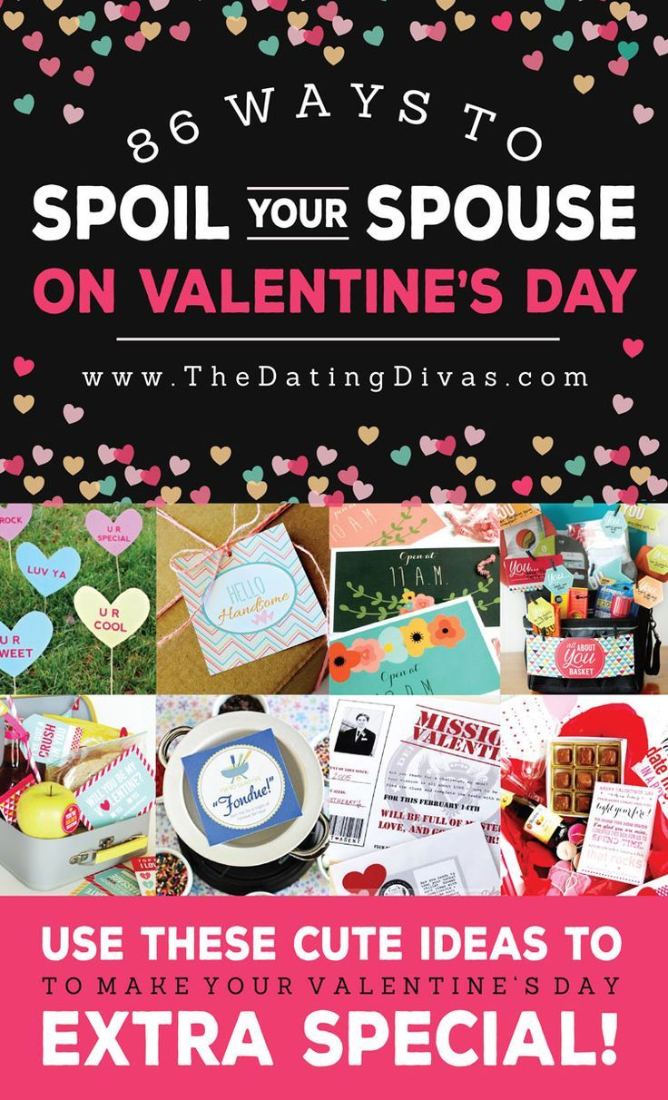 86 Ideas to Spoil Your Spouse for Valentine's!! From The Dating Divas