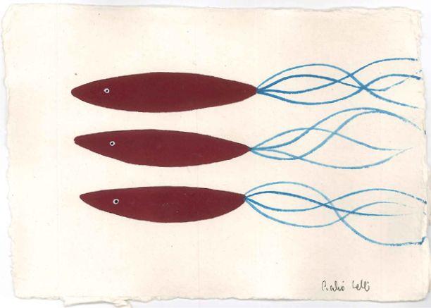 Cecilia Valli. Silenziosi movimenti. Pesci