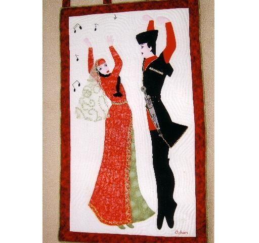 Kafkas Halk Dansları  konulu tablom.