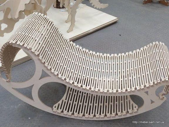 Еще один вариант кресла качалки