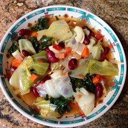 """Healing Cabbage Soup   """"I made this soup for its healing benefits, but ..."""