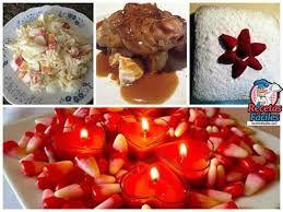 Resultado de imagen para comidas para cenas romanticas en casa