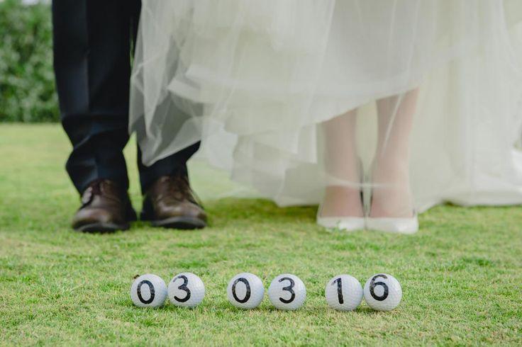 свадьба на Кипре, поле для гольфа