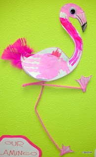 Tippytoe Crafts: flamingos