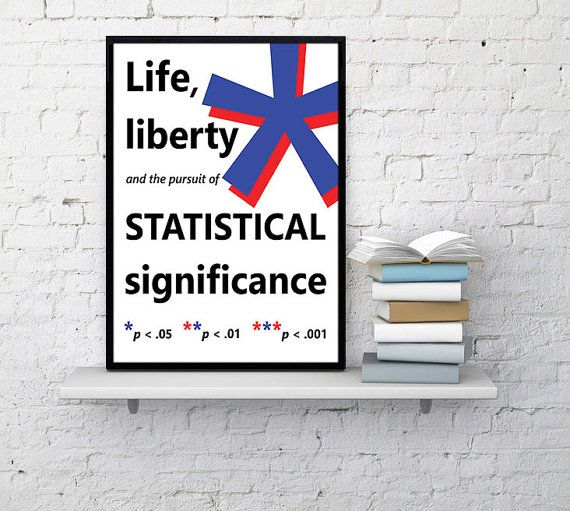 Statistics poster Statistics math wall art | Phd Stats statistical significance professor Ph.D. jstor nerd gift office Talk nerdy to me Gift for grad student p value #Affiliate