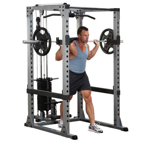Body-Solid Pro Power Squat Rack GPR378