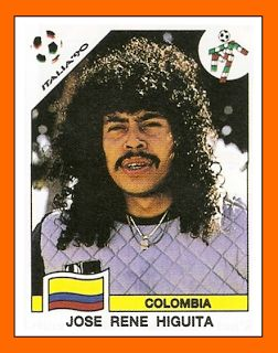 Old School Panini: Higuita