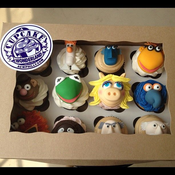 Muppets cupcakes from amazing Philly bakery